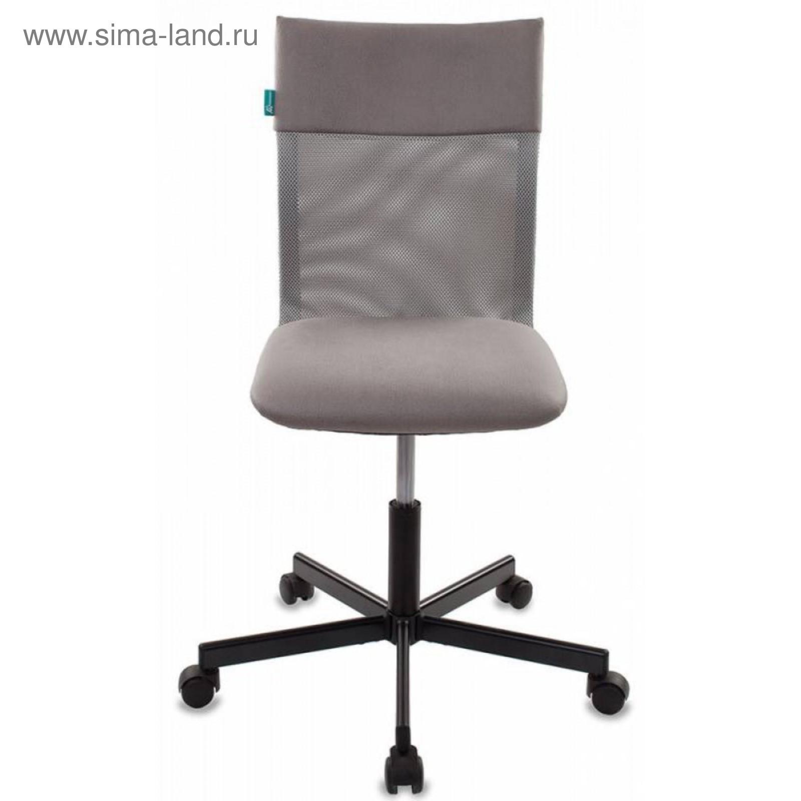 Кресло Бюрократ CH-1399/GREY, спинка сетка, серый