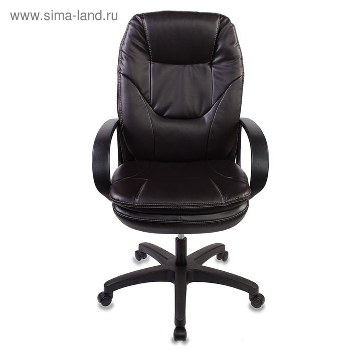 Кресло руководителя Бюрократ CH-1868/COFFEE, искусственная кожа, тёмно-коричневый