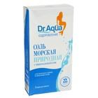Соль морская Dr. Aqua природная, 3 фильтр-пакета по 250 гр