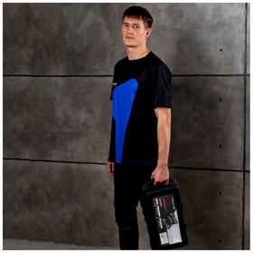 Set (dumbbell neck with locks 35 cm, with disks d=30 mm, 15 kg)
