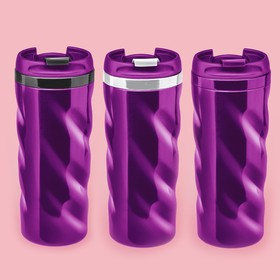 "The vacuum Cup purple ""Waves"", 350 ml, MIX"