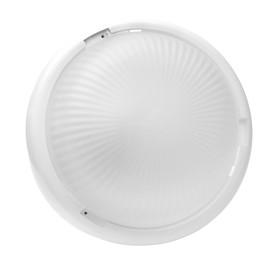 Светильник 'ЭЛЕТЕХ' Аква 200 НБО 23-60-001, 60 Вт, IP44, матовый, корпус белый Ош