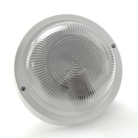Светильник 'ЭЛЕТЕХ' Фарпласт НБО 23-60-003, 60 Вт, IP44, круг, корпус, белый Ош