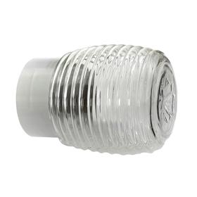 Светильник 'ЭЛЕТЕХ' Бочонок 120 НББ 64-60-080, 60 Вт, корпус прямой, белый Ош