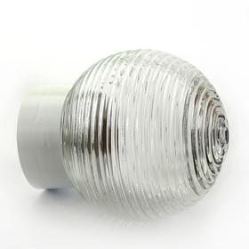 Светильник 'ЭЛЕТЕХ' Кольца 150 НББ 64-60-080, 60 Вт, корпус прямой, белый Ош