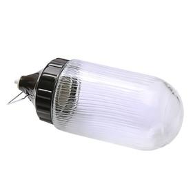 Светильник 'ЭЛЕТЕХ' Конус 108х233 НСП 03-60-001 IP53 корпус пластик, черный Ош