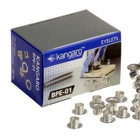 Люверсы (заклепки) к дыроколу, BP-01, 100 штук, на 30 листов, металлические, d=6 мм Ош