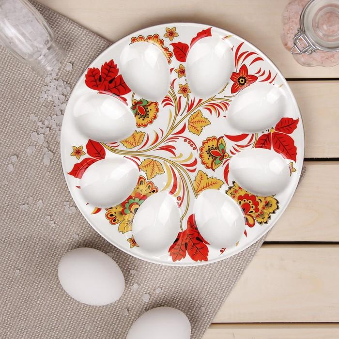 Подставка для яиц Доляна «Жар птица», 20×2 см - фото 996003