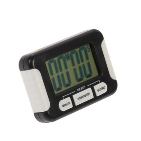 Electronic timer Luazon LC107, powered by 1 AAA not included, black