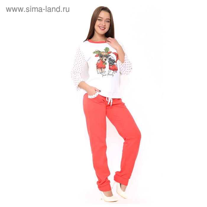 Комплект женский (джемпер, брюки) ТК-481 цвет МИКС, р-р 42