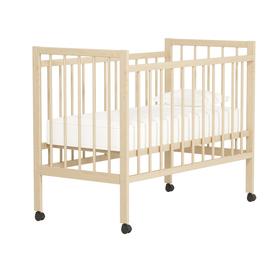 Кровать детская «Колибри Мини-ЛК» на колёсах, цвет берёза