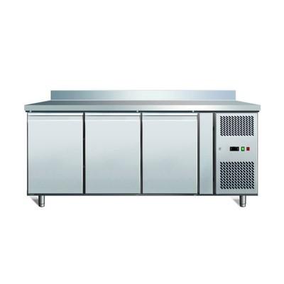 Холодильный стол Gastrorag SNACK 3100 TN ECX, 290 Вт, 375 л, -2 до +8°С, 3 двери, без борта