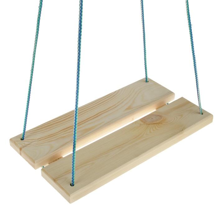 Качели подвесные, деревянные 40х22 см