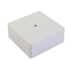 Коробка распределительная HEGEL КРК2702-01-И, 75x75x30 мм, IPX4, для открытой установки