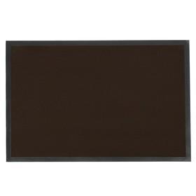 Коврик придверный влаговпитывающий Blåbär Tuff, 60×90 см, цвет коричневый