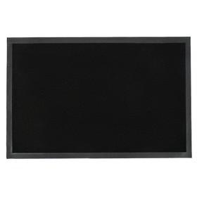 Door mat, moisture-absorbing Tuff, black