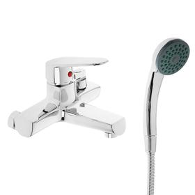 Single lever basin mixer Accoona A6369, short spout, silumin, chrome