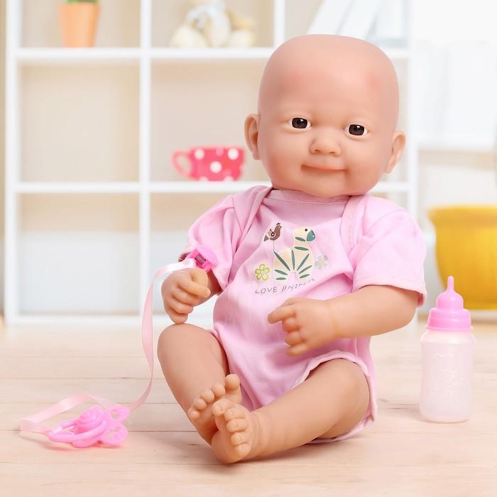 Пупс «Новорожденный малыш» с аксессуарами