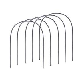 Комплект дуг для парника, полипропилен 2.4 м, d = 16 мм, набор 5 шт