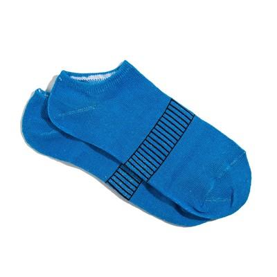 Носки женские укороченные, цвет синий, размер 36-39