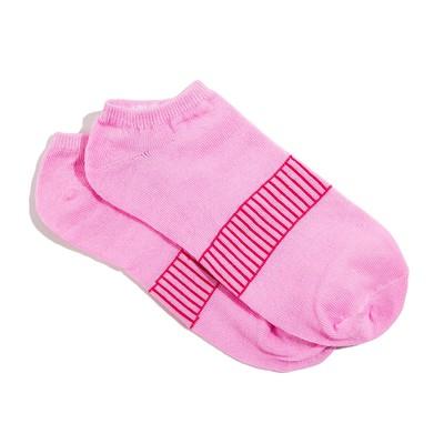 Носки женские укороченные, цвет розовый, размер 36-39