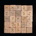 Runes, Tarot, Nordic, marble