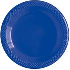 """Тарелки пластиковые """"Делюкс"""", цвет: синий, 15 см, набор 10 шт"""