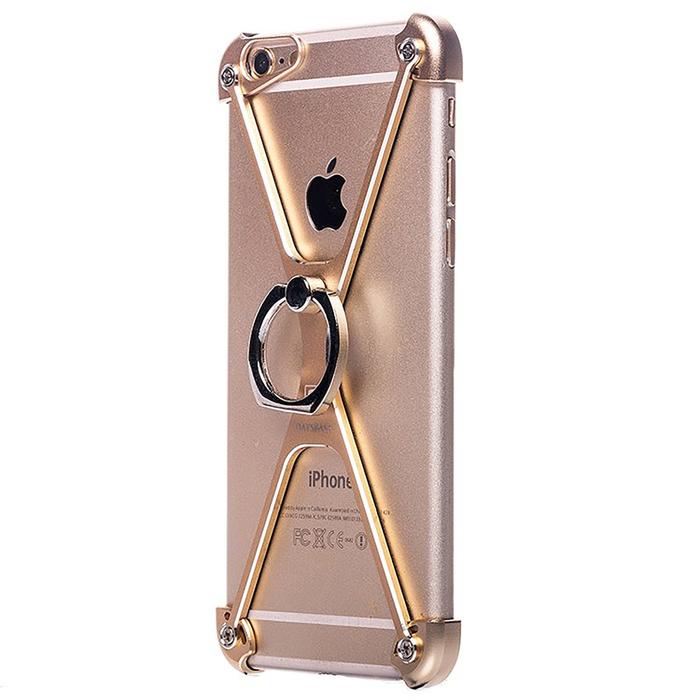 Чехол-экзоскелет Oatsbasf для Apple iPhone 6 Plus, золотой