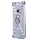 Чехол-экзоскелет Oatsbasf для Apple iPhone 6 Plus, серебряный