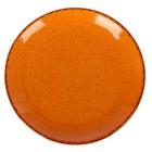 Тарелка 16 см, цвет оранжевый