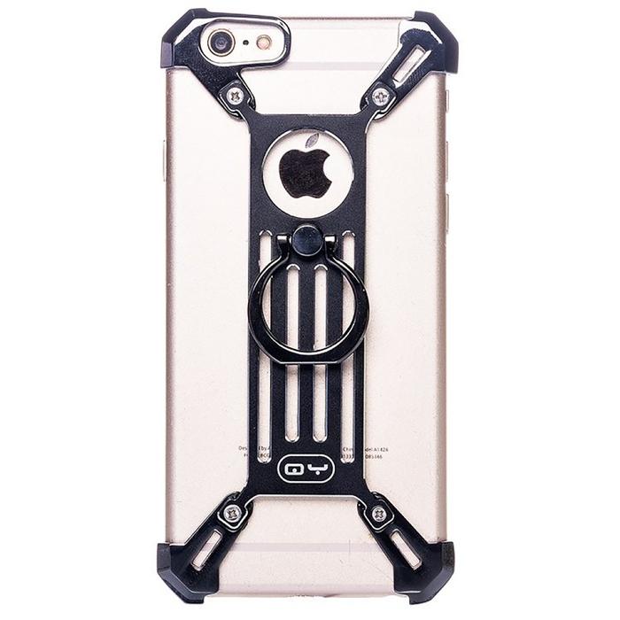 Чехол-экзоскелет Qiyang для Apple iPhone 6 Plus, чёрный