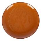 Тарелка 26 см, цвет коричневый