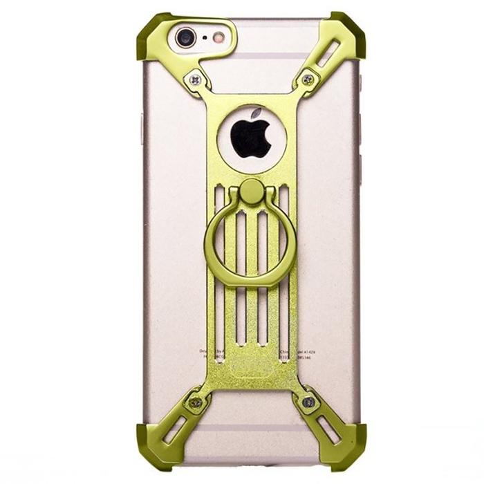 Чехол-экзоскелет Qiyang для Apple iPhone 7 Plus, золотой