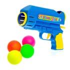 """Gun """"Shot"""", shooting balls, MIX colors"""