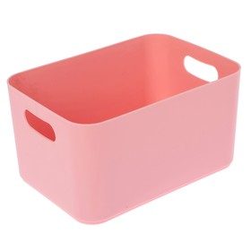 Корзина Joy, цвет нежно-розовый Ош