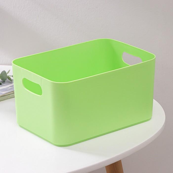 Корзина для хранения 2,3 л Joy, цвет салатовый