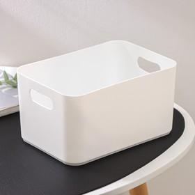 Корзина для хранения Joy, 2,3 л, 23×16×12 см, цвет белый