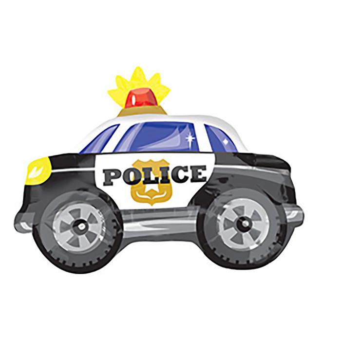 """Шар фольгированный 20"""" """"Машина Полиция"""""""