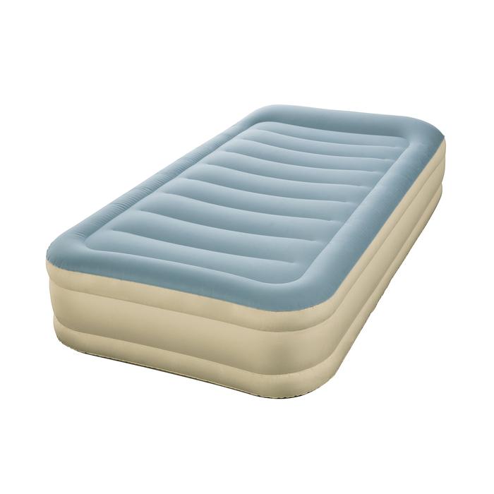 Кровать надувная Essence Fortech Twin, 191 х 97 х 36 см, с подголовником, со встроенным насосом, 69005 Bestway