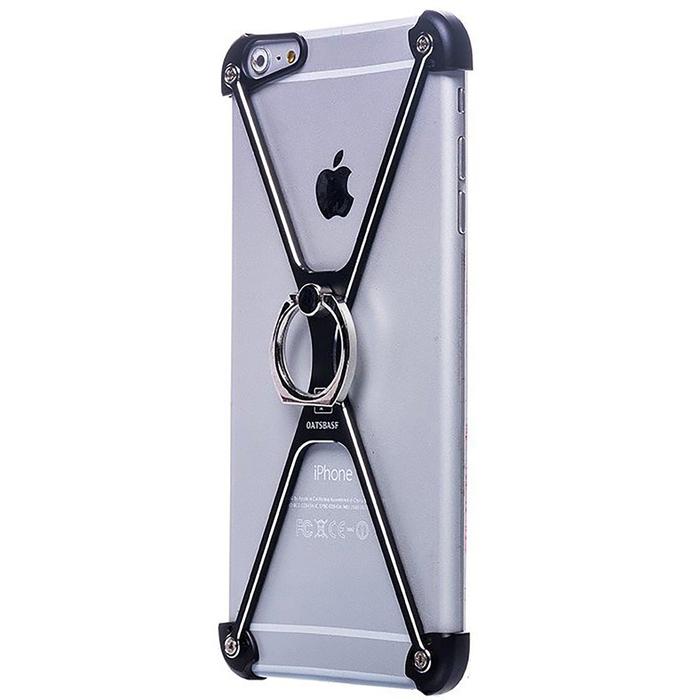 Чехол-экзоскелет Oatsbasf для Apple iPhone 6 Plus, чёрный