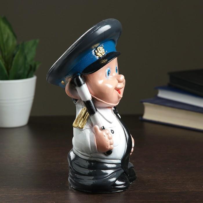 """Копилка """"Инспектор ГАИ"""" малая"""
