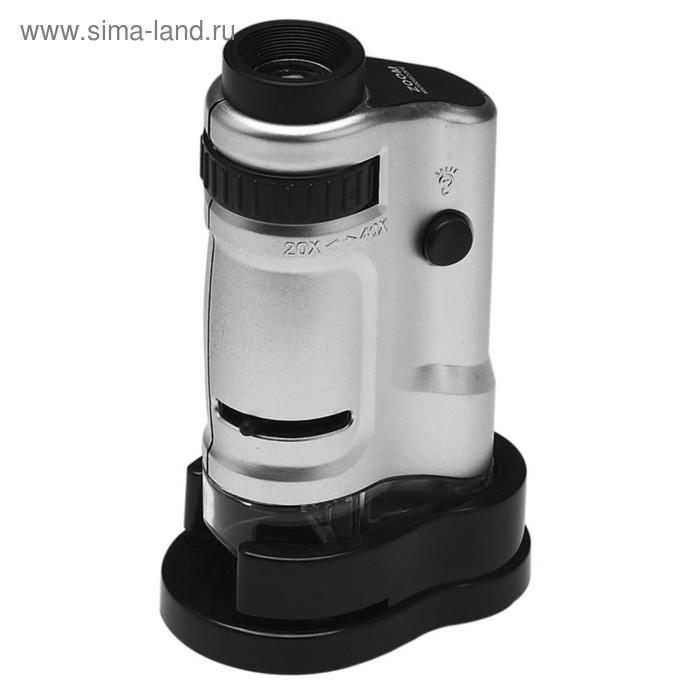 Микроскоп карманный Kromatech 20-40x, с подсветкой (MG10081-8)