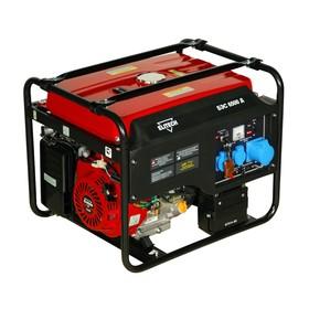 Генератор Elitech БЭС 6500 Д, бензиновый, 4 тактный, 5/5.5 кВт, эл.старт с ДУ, 220/12 В