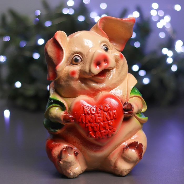 "Копилка ""Свинка с сердцем"""