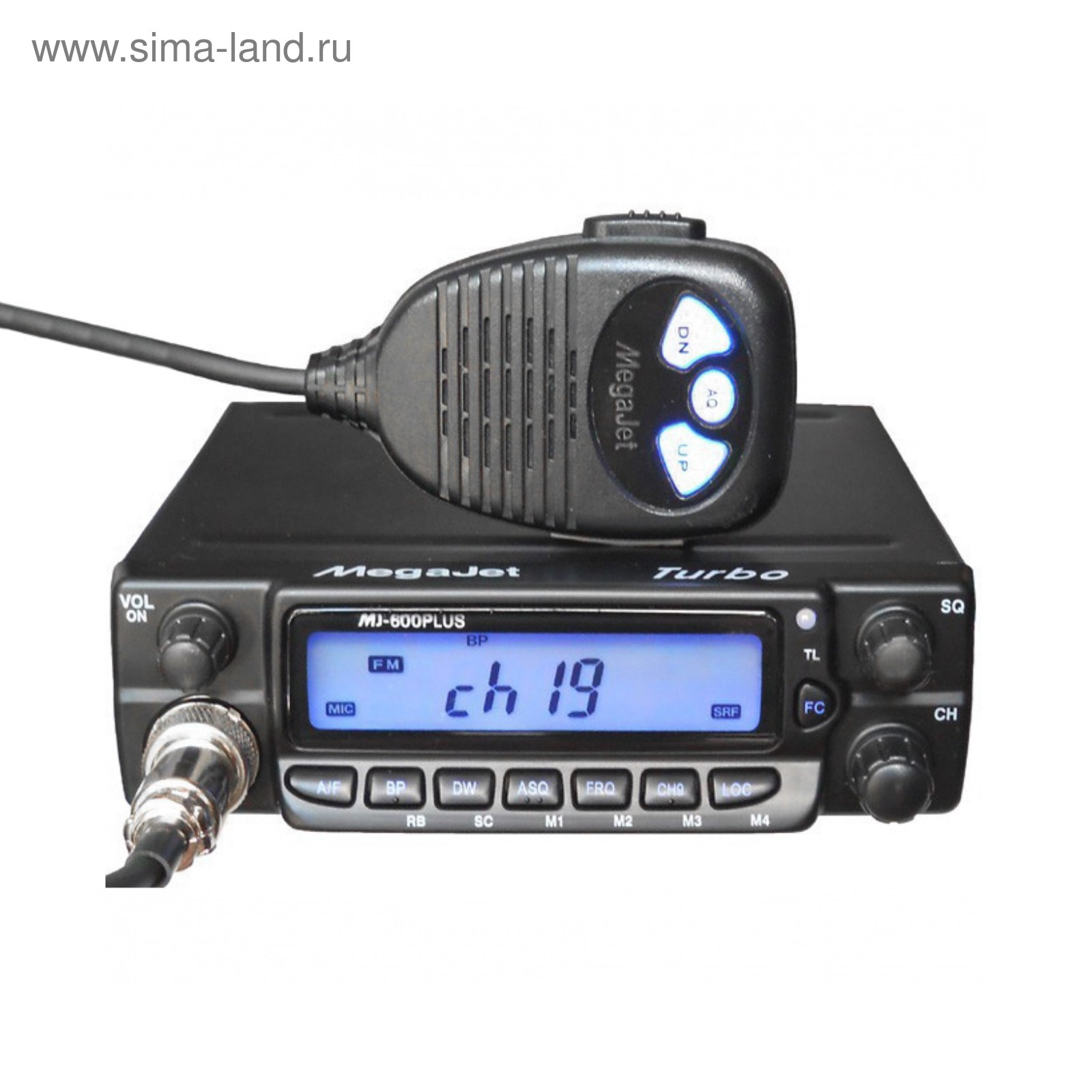 Megajet mj-600 plus turbo радиостанция | mj-600 рация.
