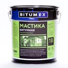 Мастика битумная гидроизоляционная BITUMEX, 18кг