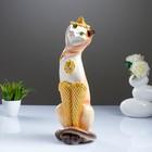 """Фигура """"Кошка Анжелика Кокетка"""" 13х13х45 см  бежевый"""