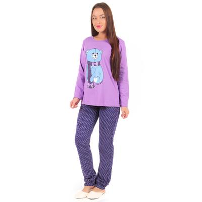 Комплект женский (джемпер, брюки) ТК-473 цвет МИКС, р-р 48