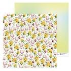 Бумага для скрапбукинга «Хлопок», 30.5 × 30.5 см, 180 г/м