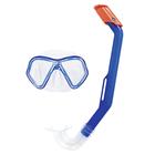 Набор для плавания Lil' Glider, маска, трубка, от 3 лет, цвета МИКС, 24023 Bestway
